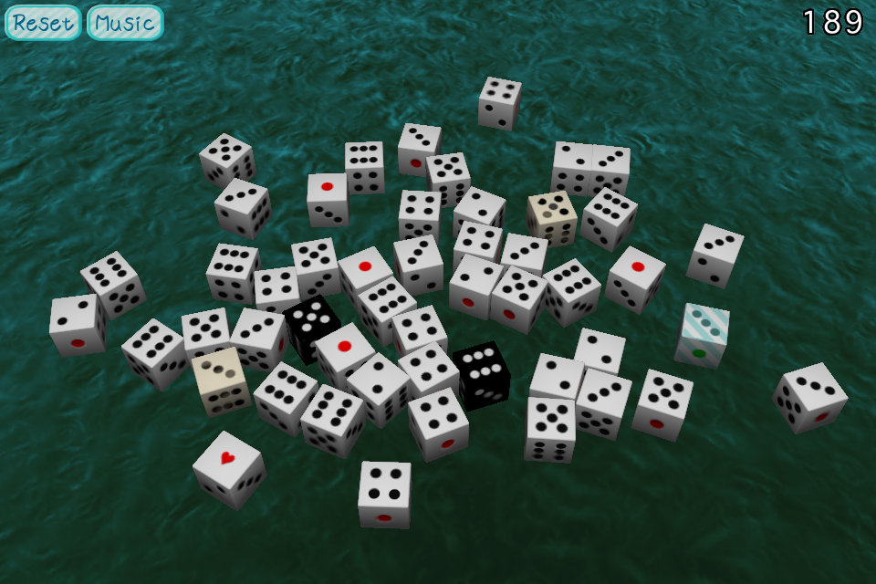 Screenshot Dice -3D- Free